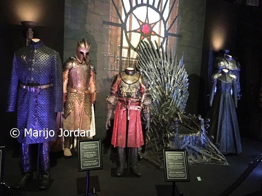 Exposición Juego De Tronos Vestidos Para El Trono Marijo