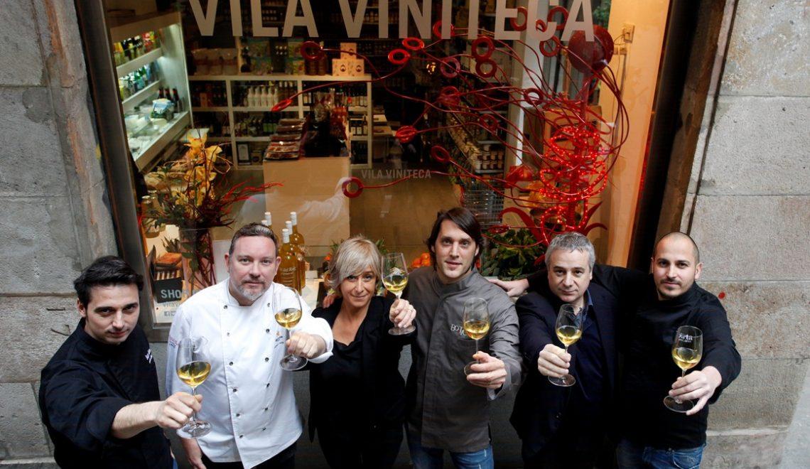 El menú de Vila Viniteca con los postres de queso de Albert Adrià