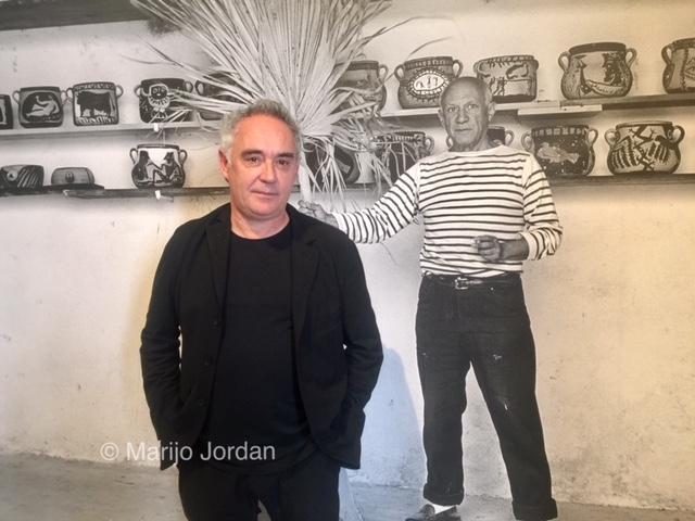 Ferran Adrià y la cocina de Picasso