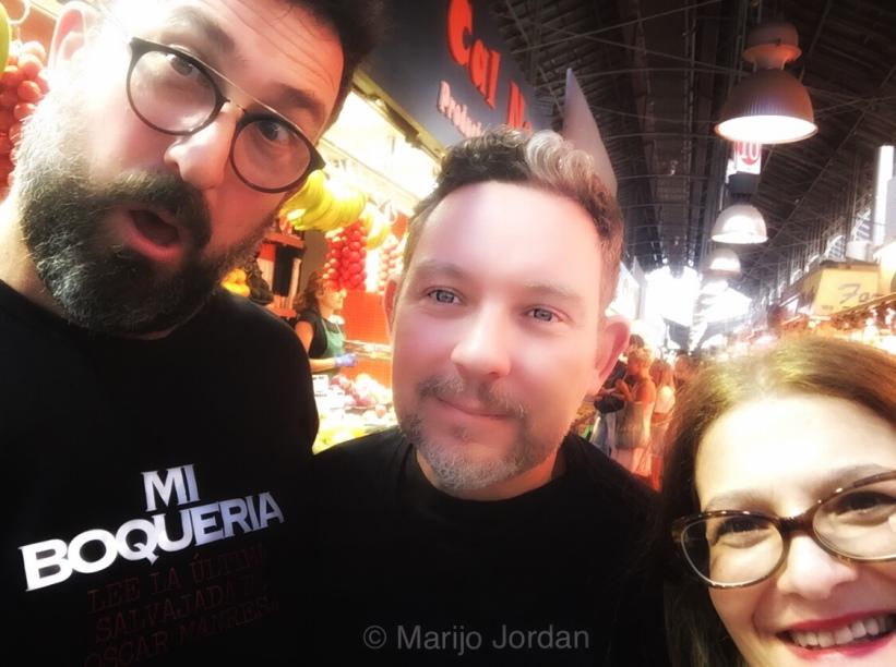 Oscar Manresa, Albert Adrià y Marijo Jordan