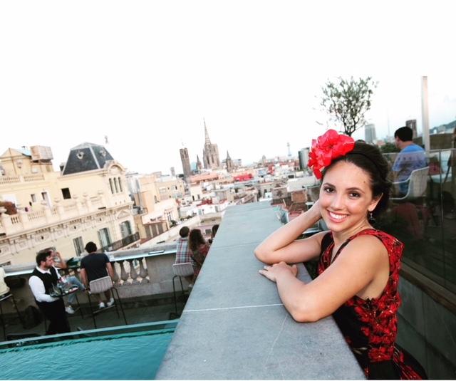 Moda en la azotea Rooftop del hotel Ohla