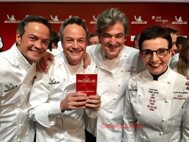 Estrellas Michelin 2019 en clave catalana